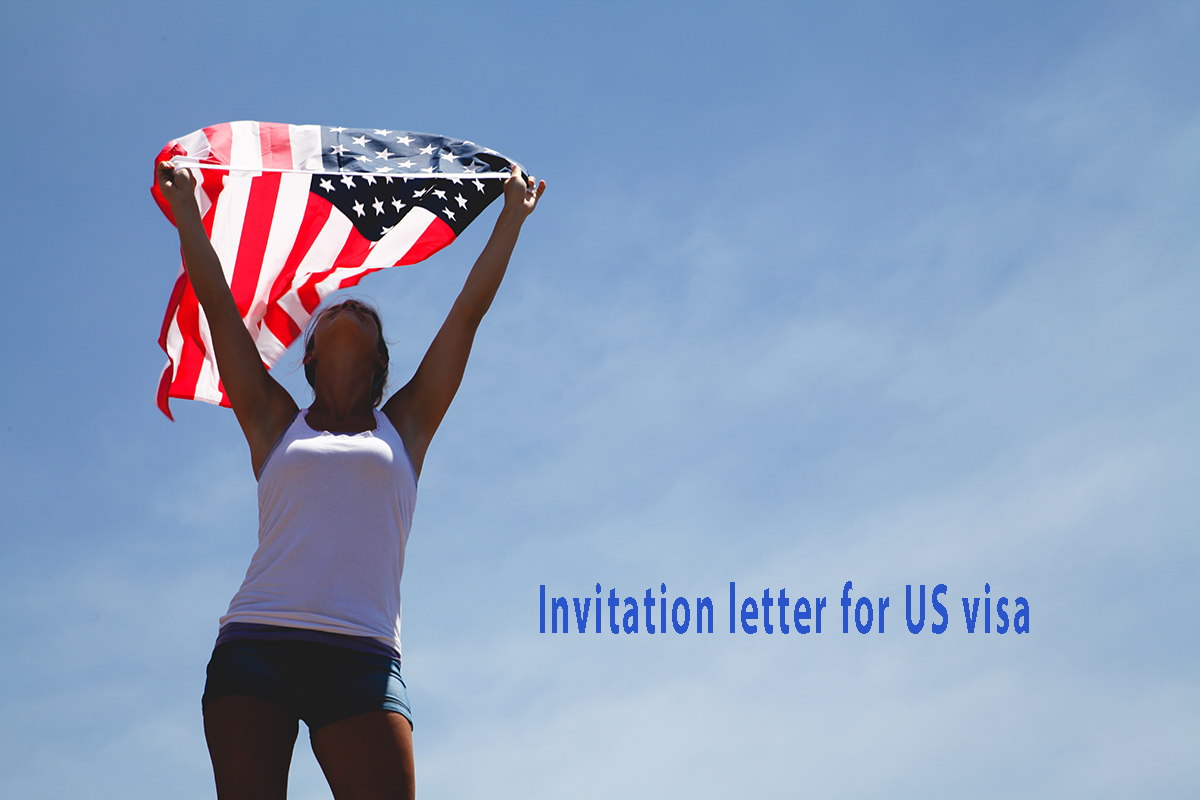 Invitation letter for US Visa - (B2 Tourist) - With various